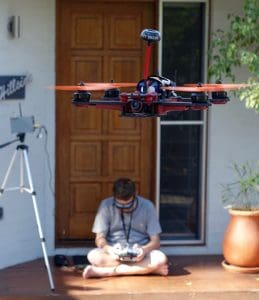 can quadcopters carry humans - stability