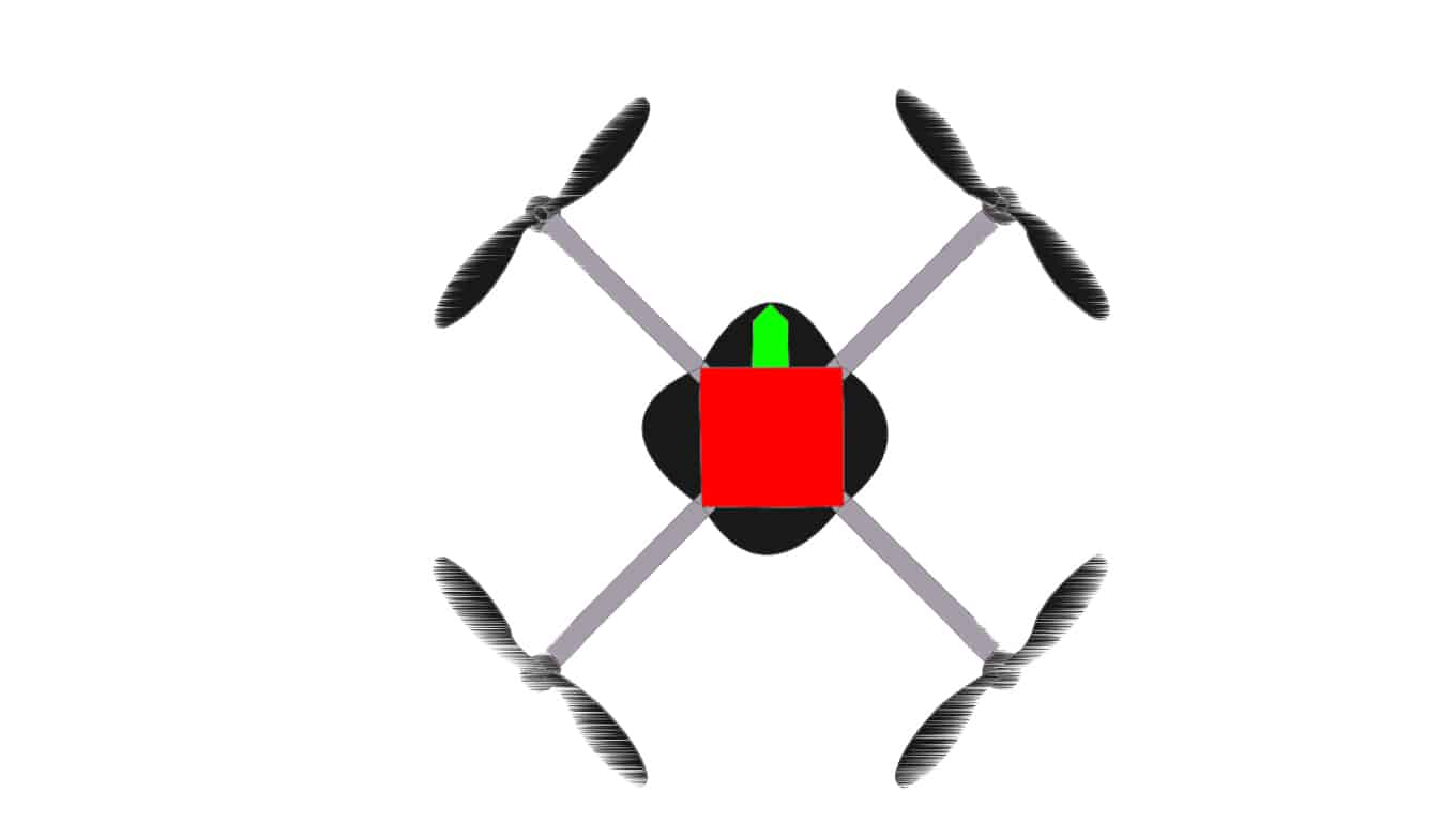 How drones work: pitch