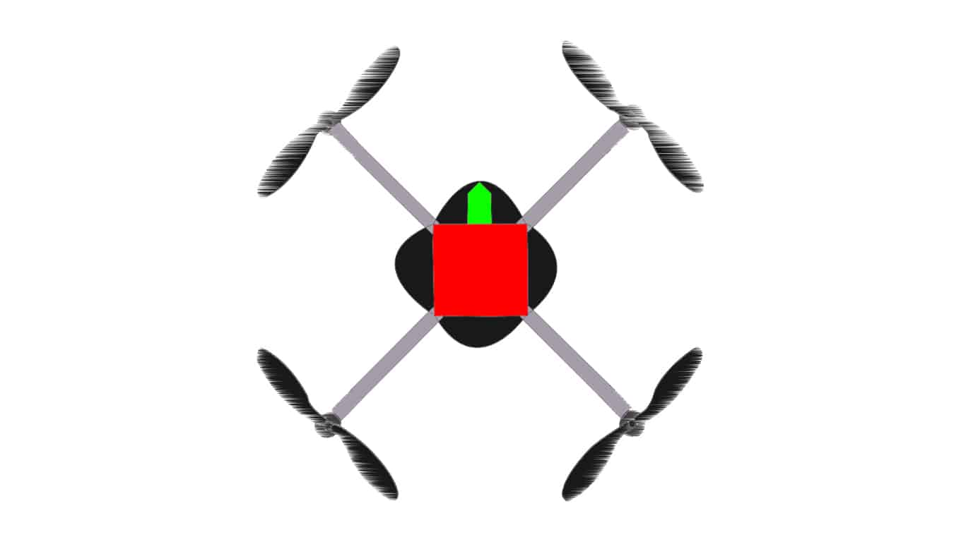 How drones work: pitch2